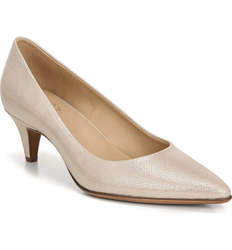 NATURALIZER Beverly Pump, Main, color, TAUPE METALLIC LEATHER