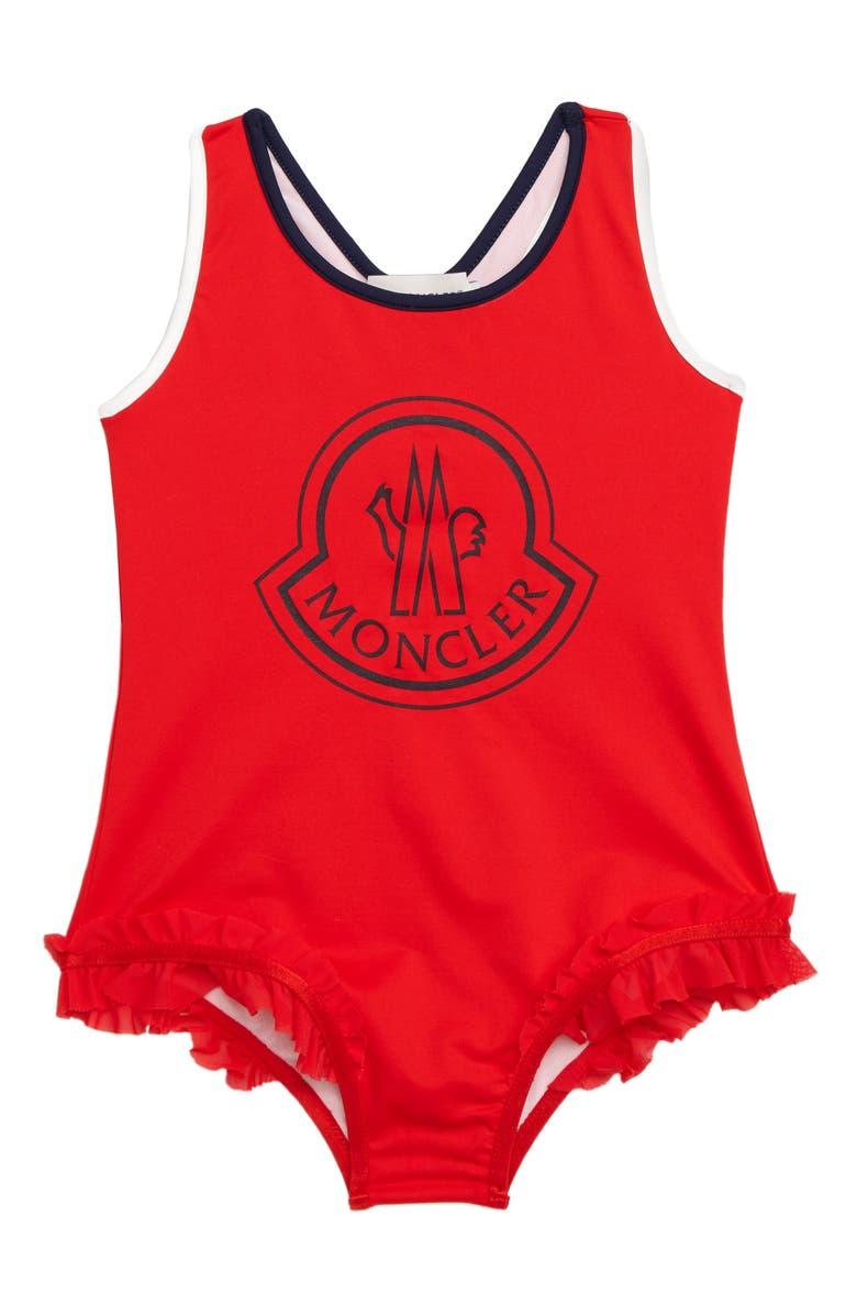 MONCLER One-Piece Swimsuit, Main, color, 610