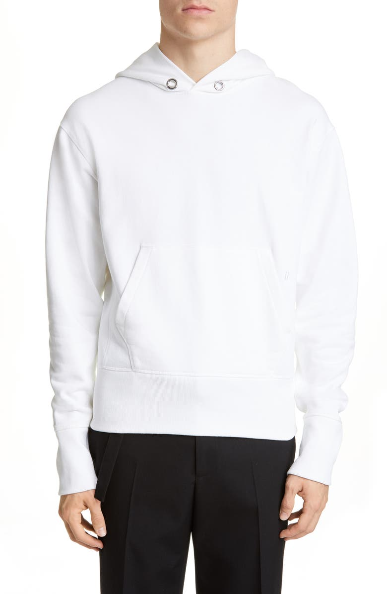HELMUT LANG Standard Hoodie, Main, color, CHALK WHITE