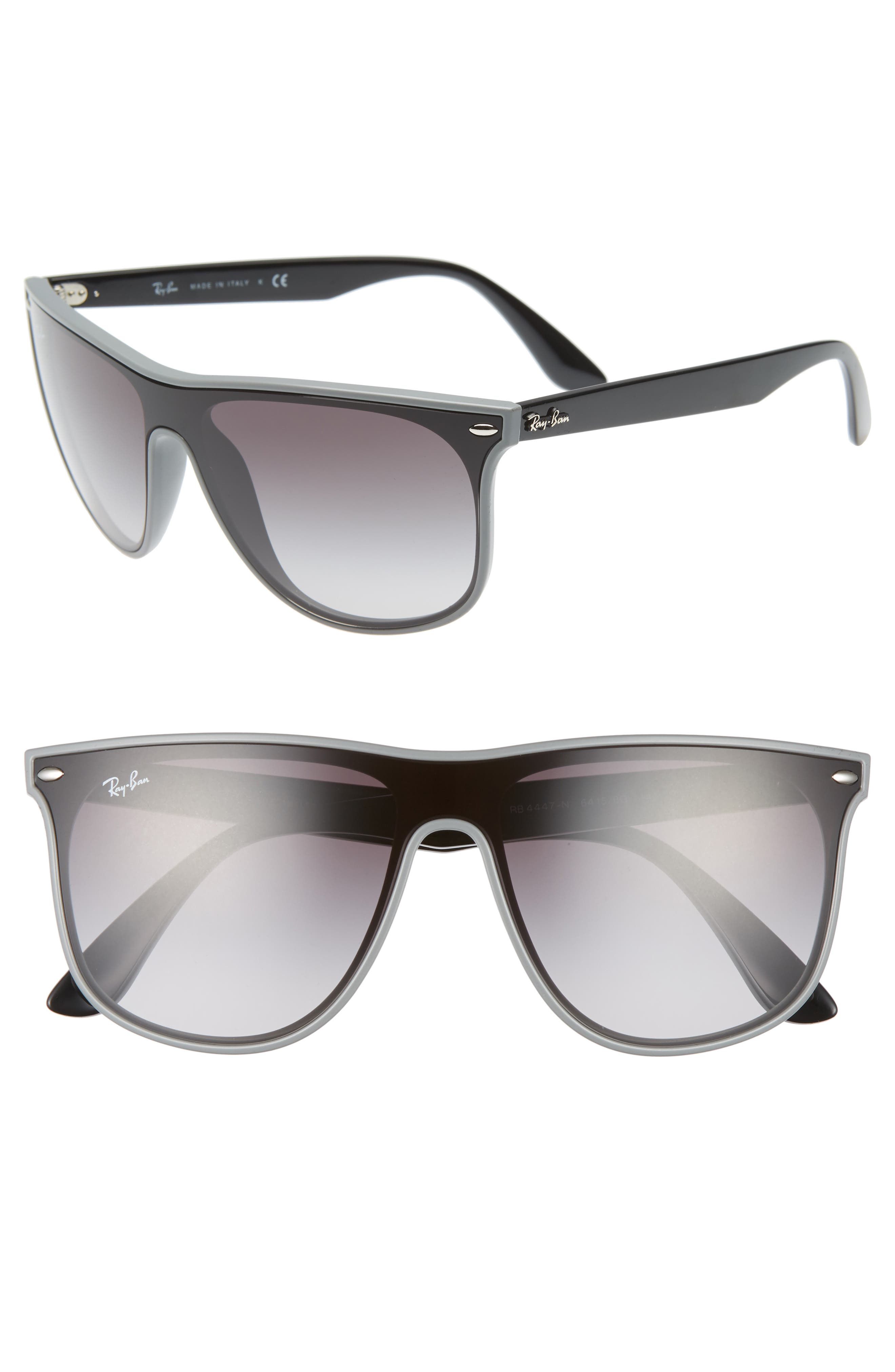 Ray-Ban Blaze 55Mm Sunglasses - Grey