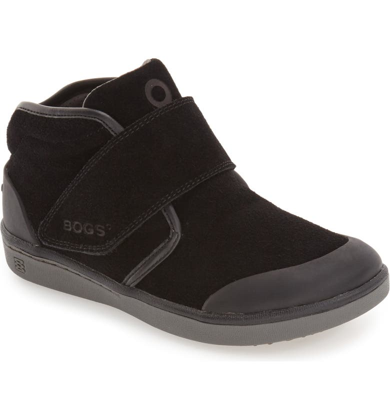BOGS 'Sammy' Waterproof Sneaker, Main, color, BLACK/ BLACK