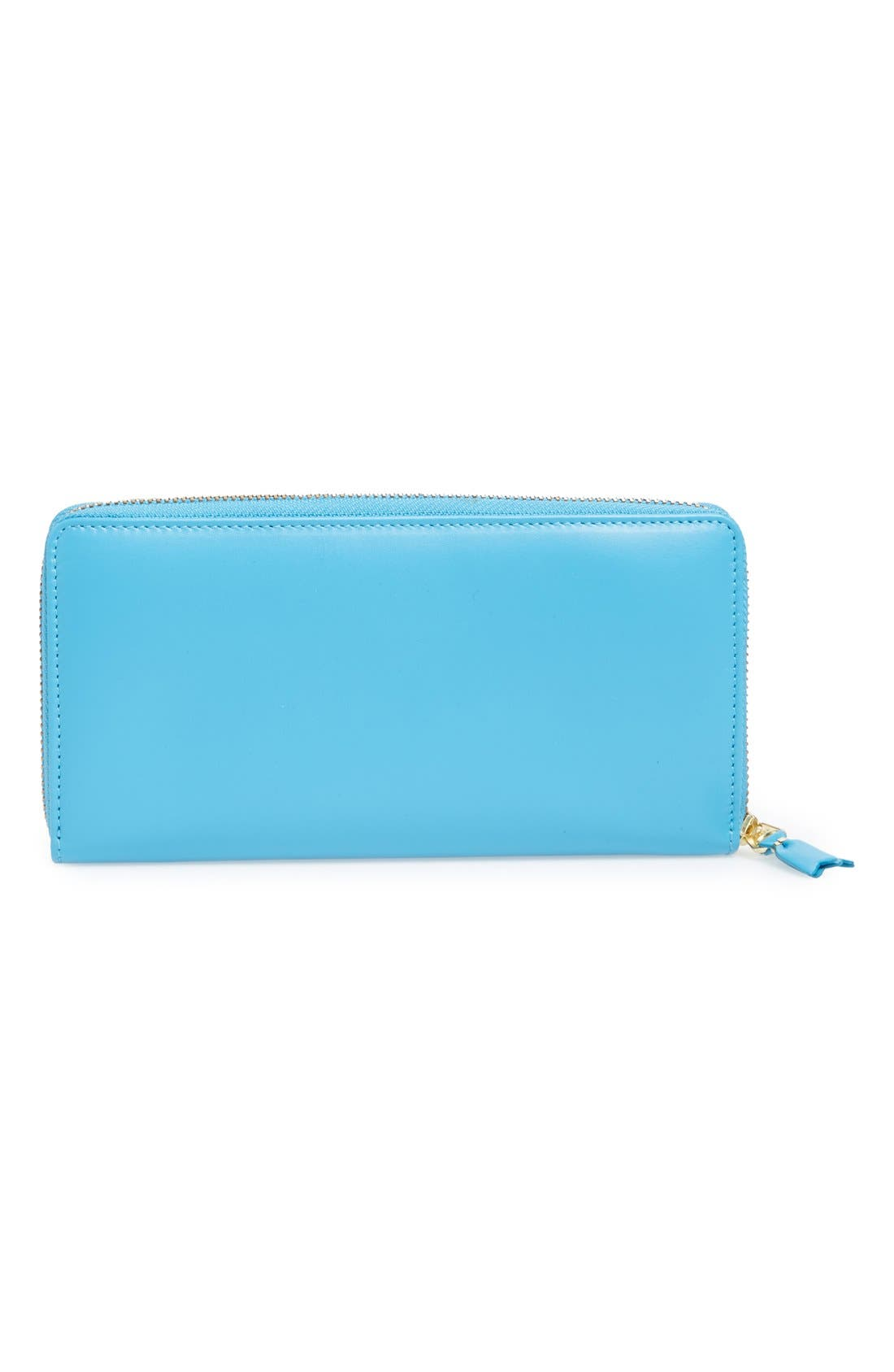 ,                             Leather Continental Long Wallet,                             Alternate thumbnail 9, color,                             400