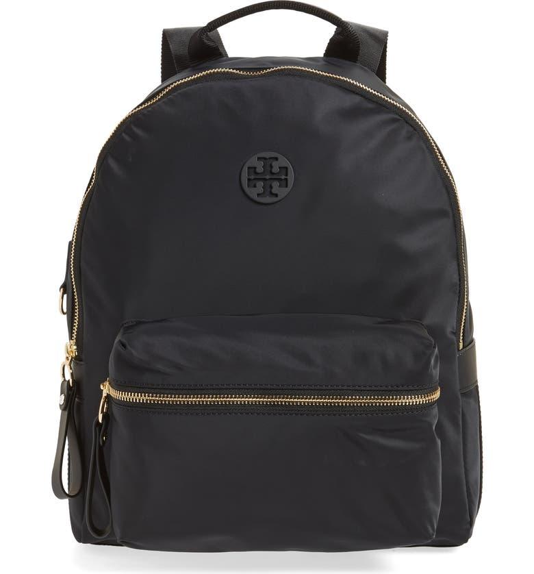 TORY BURCH Tilda Nylon Backpack, Main, color, 001
