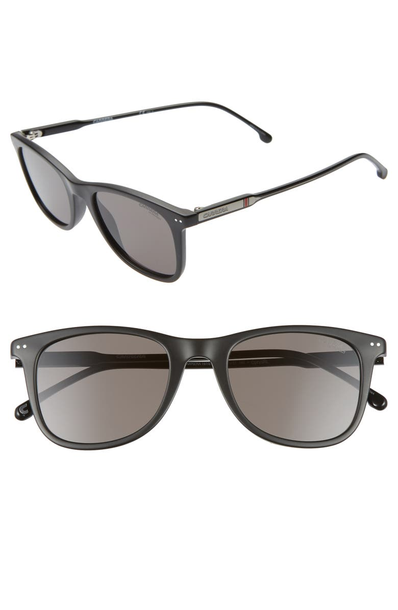 CARRERA EYEWEAR 51mm Sunglasses, Main, color, MATTE BLACK