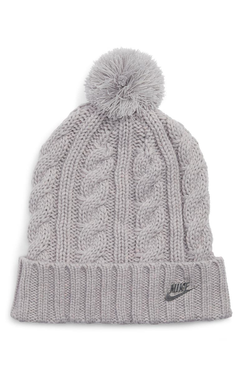 NIKE Sportswear Beanie with Removable Pom, Main, color, 027