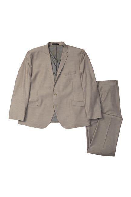 Image of Kenneth Cole Reaction Brown Technicole Flex Fit Suit