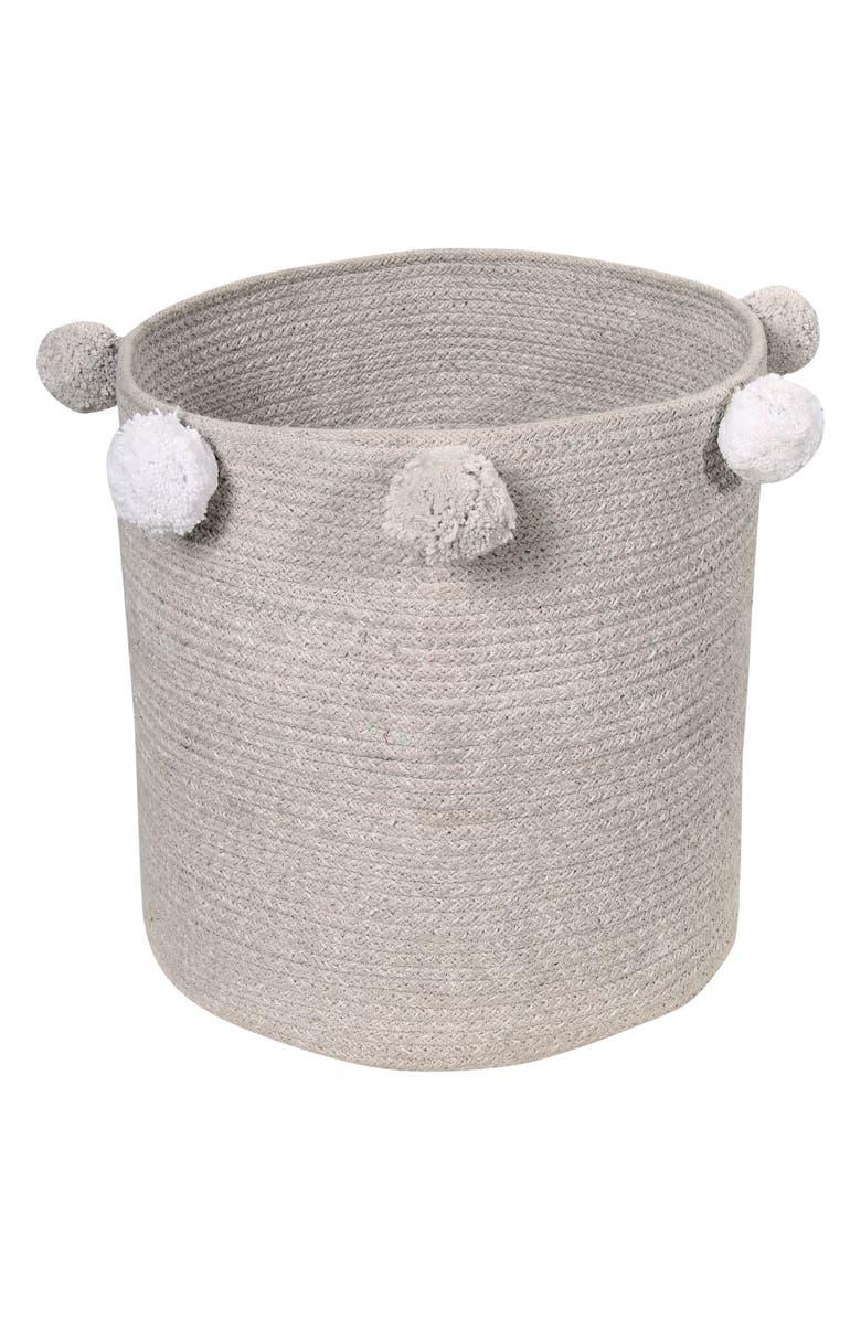 LORENA CANALS Bubbly Basket, Main, color, GREY