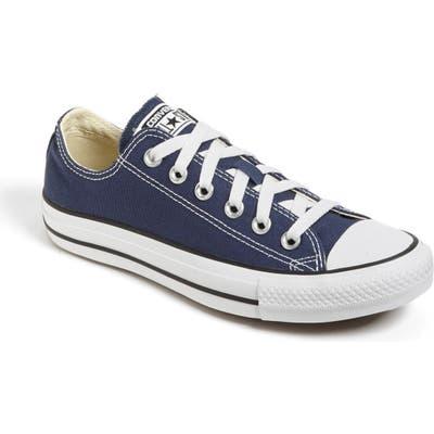 Converse Chuck Taylor Low Top Sneaker, Blue