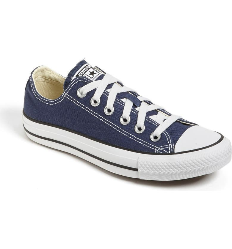 CONVERSE Chuck Taylor<sup>®</sup> Low Top Sneaker, Main, color, NAVY