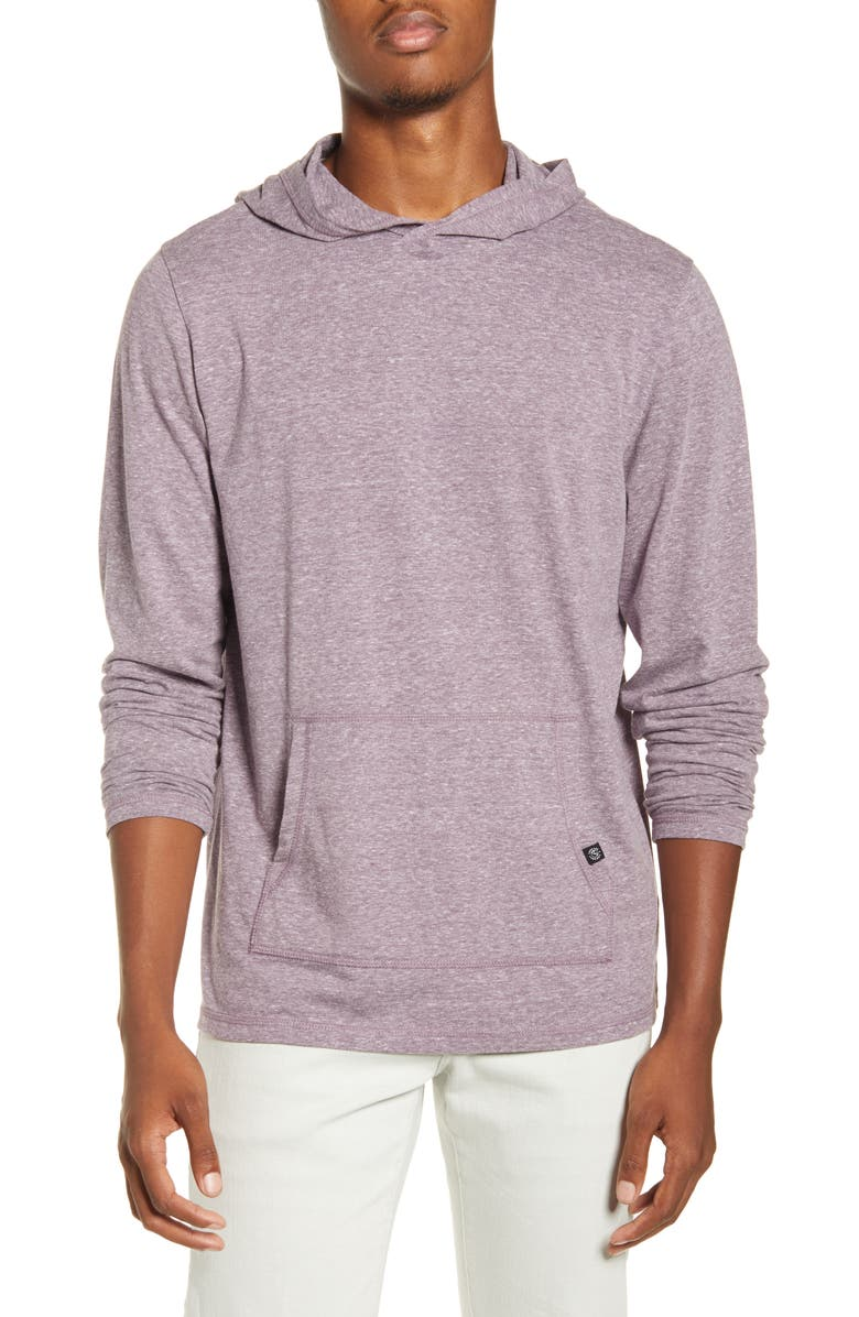 THREADS 4 THOUGHT Pullover Hoodie, Main, color, DARK PLUM