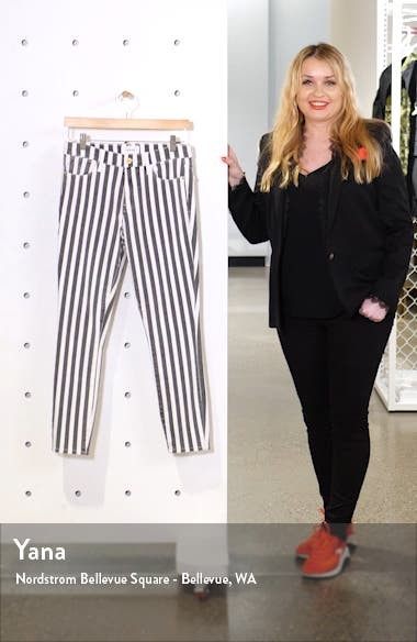 Le High Skinny Crop Jeans, sales video thumbnail