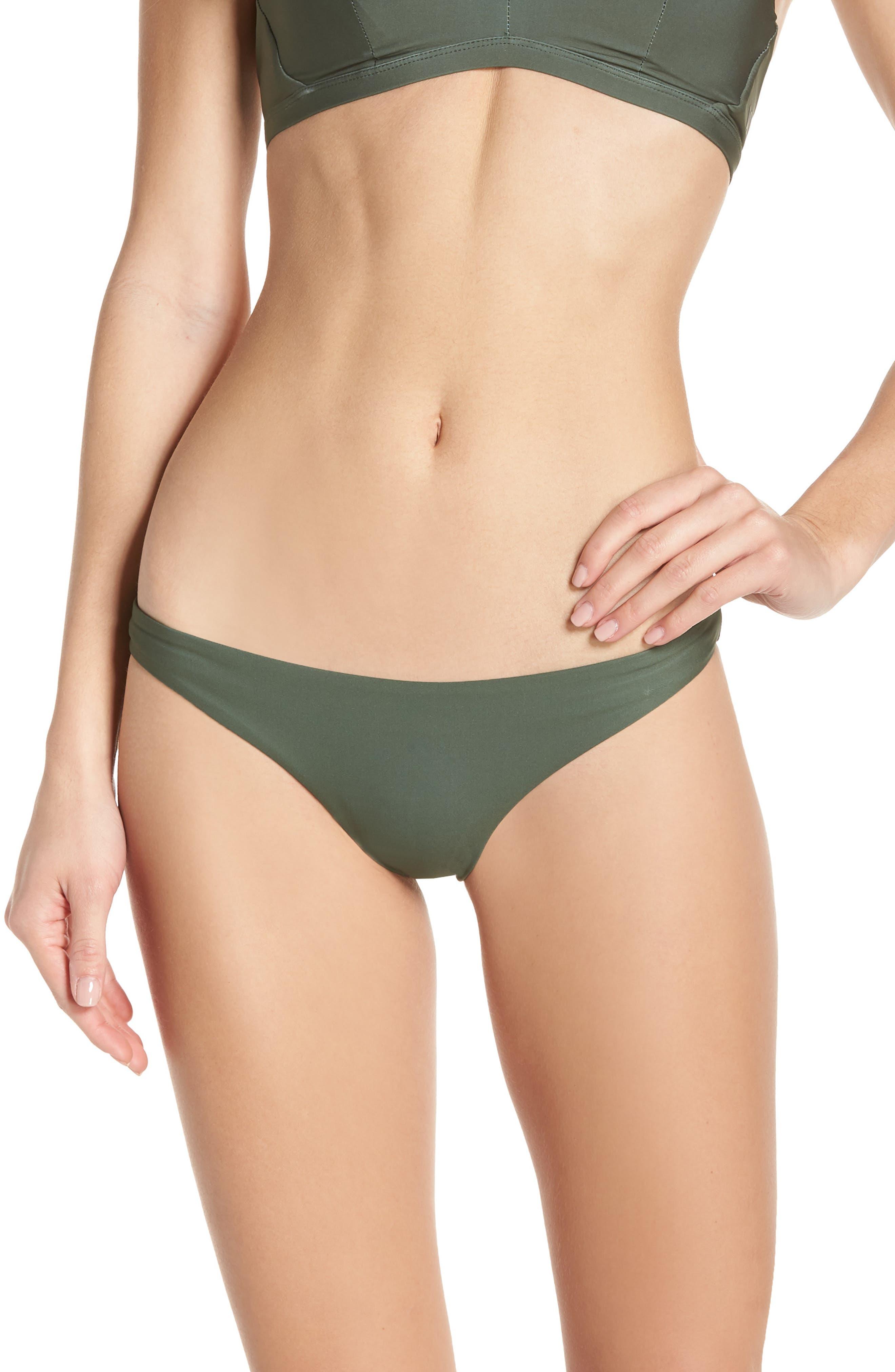 Hurley X Pendleton Quick Dry Badlands Bikini Bottoms, Green