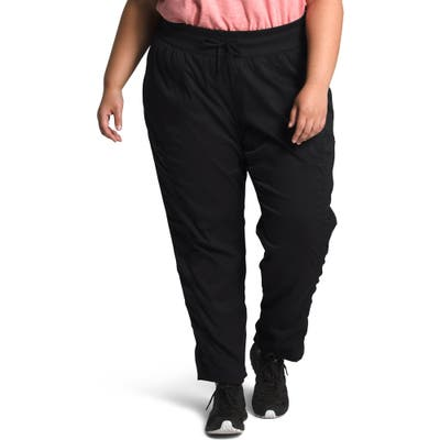 Plus Size The North Face Aphrodite 2.0 Motion Water Repellent Pants, Black