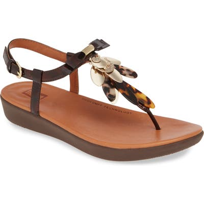 Fitflop Tia Dragonfly Sandal, Brown (Nordstrom Exclusive)