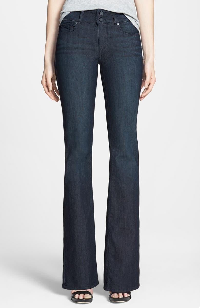 PAIGE Denim 'Hidden Hills' Bootcut Jeans, Main, color, 400