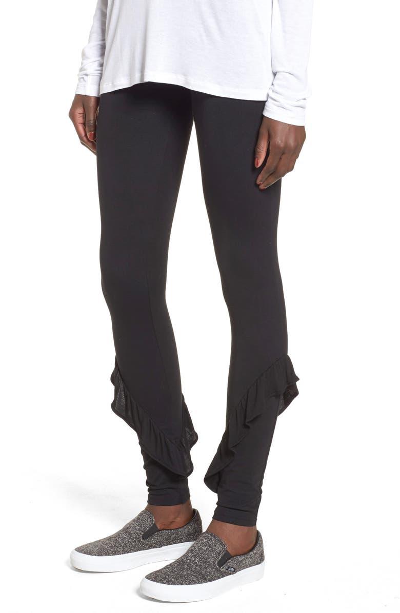 BP. Ruffle Leggings, Main, color, 001