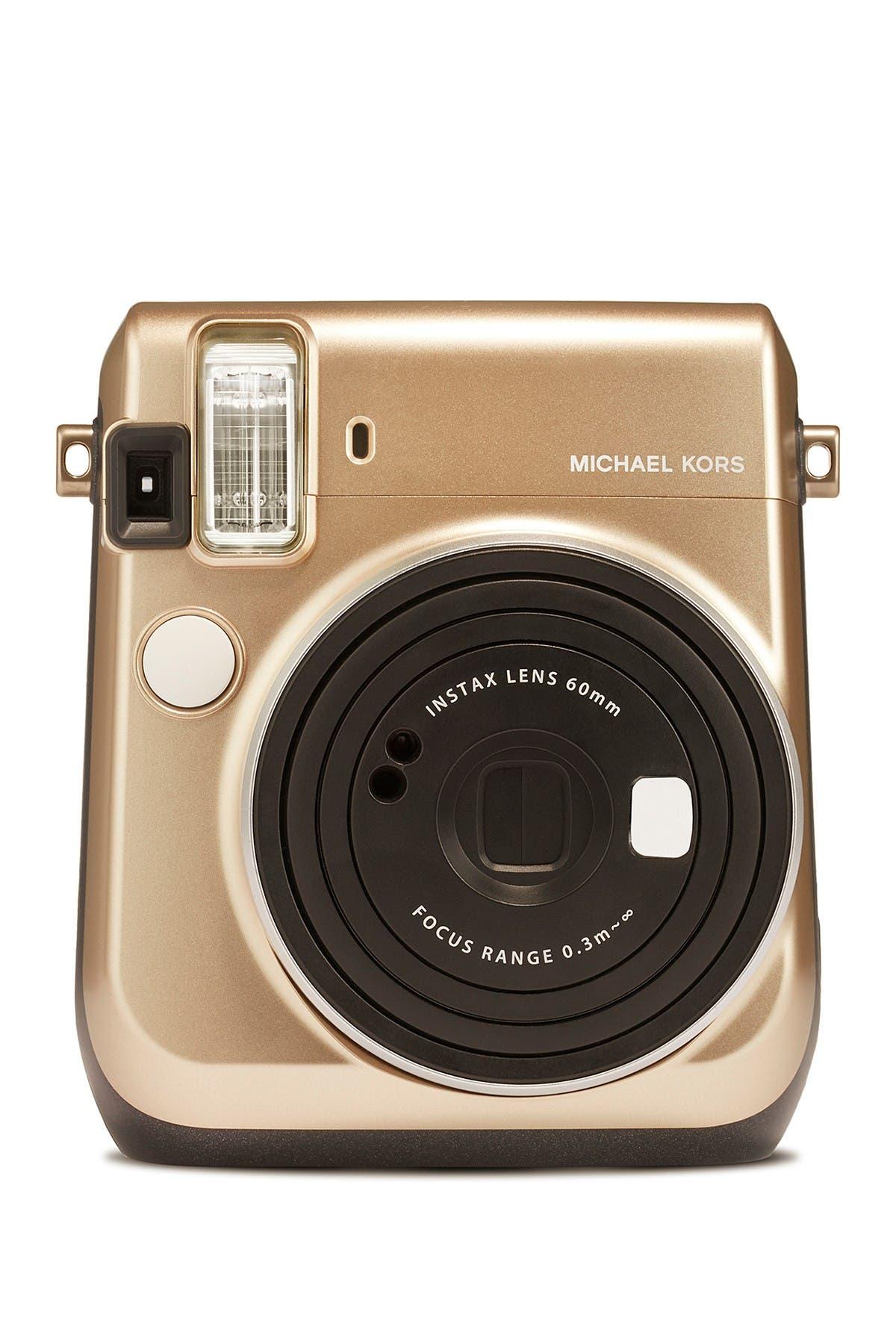 Image of INSTAX MINI BY FUJIFILM Instax Michael Kors Mini 70 Gold Camera