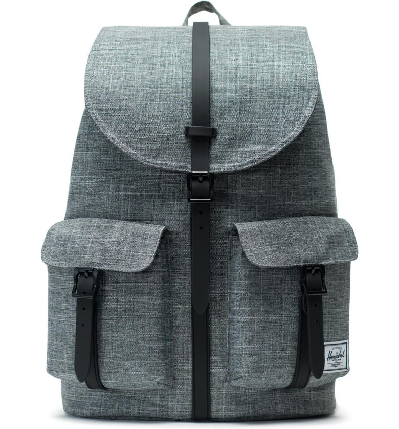 HERSCHEL SUPPLY CO. 'Dawson' Backpack, Main, color, RAVEN CROSSHATCH/ BLACK