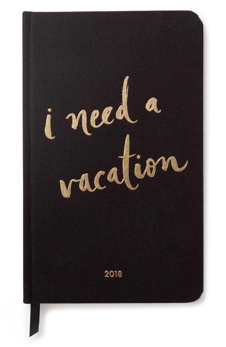 KATE SPADE NEW YORK 12-month agenda, Main, color, 001