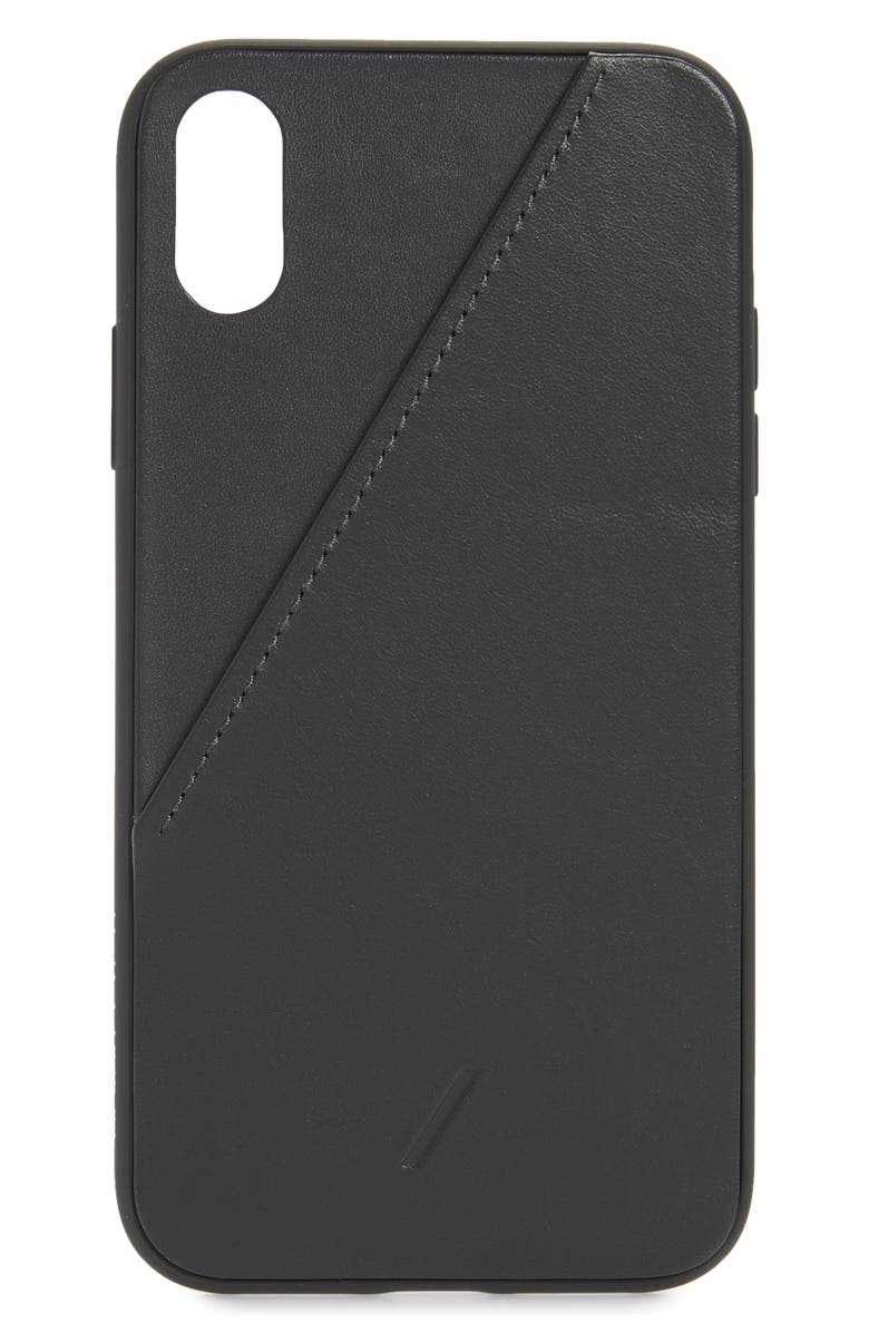 NATIVE UNION CLIC Card iPhone XR Case, Main, color, 001
