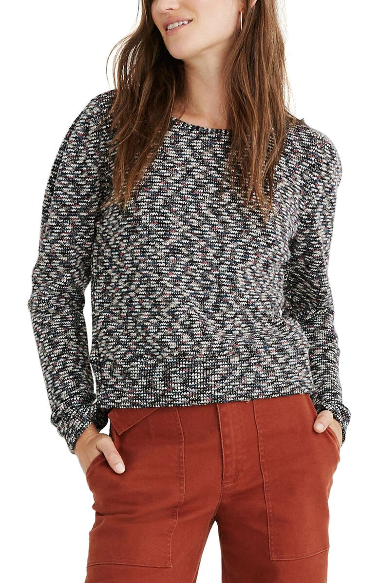 MADEWELL Multicolor Sweater, Main, color, 001