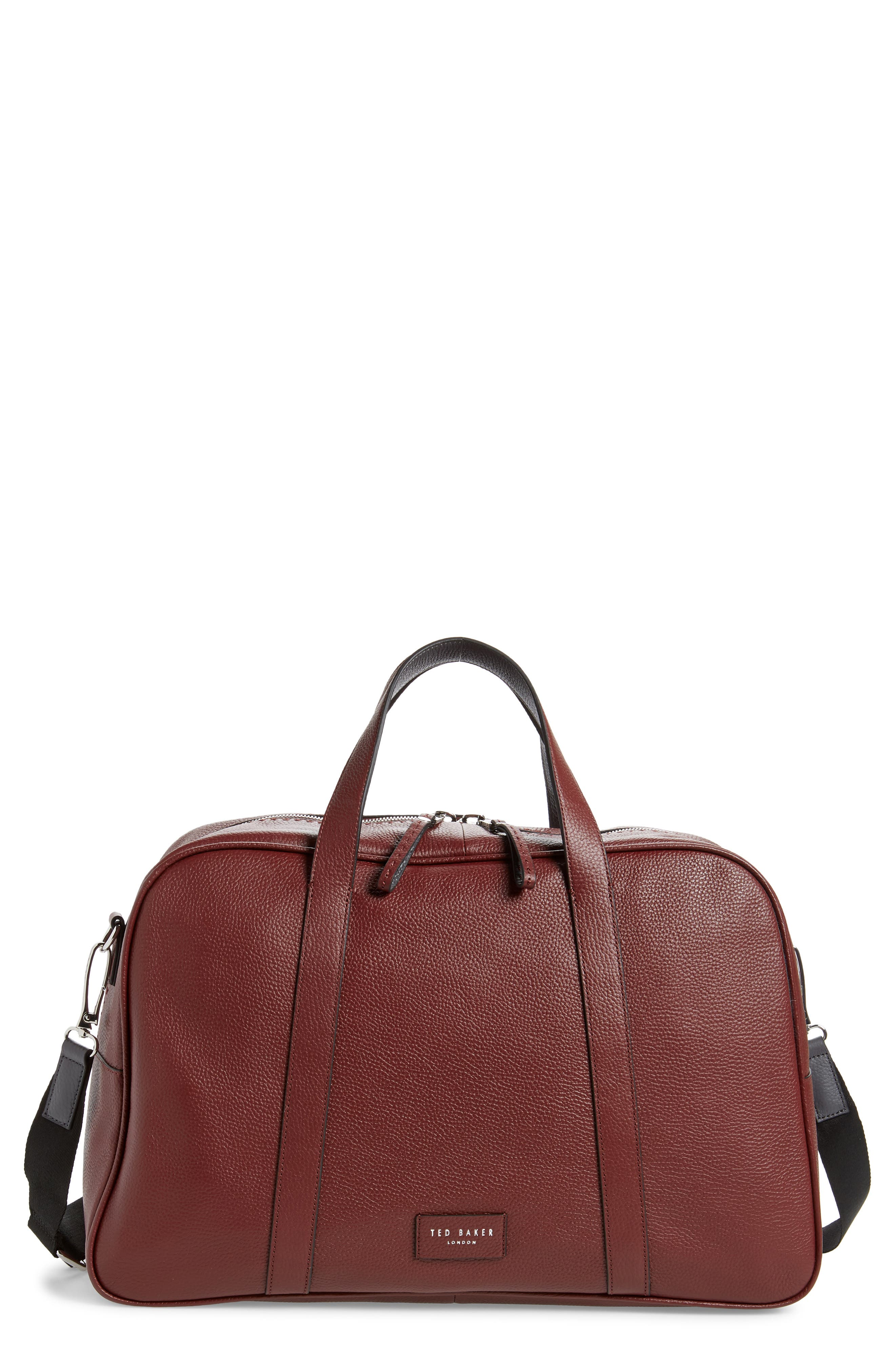Traves Leather Duffle Bag