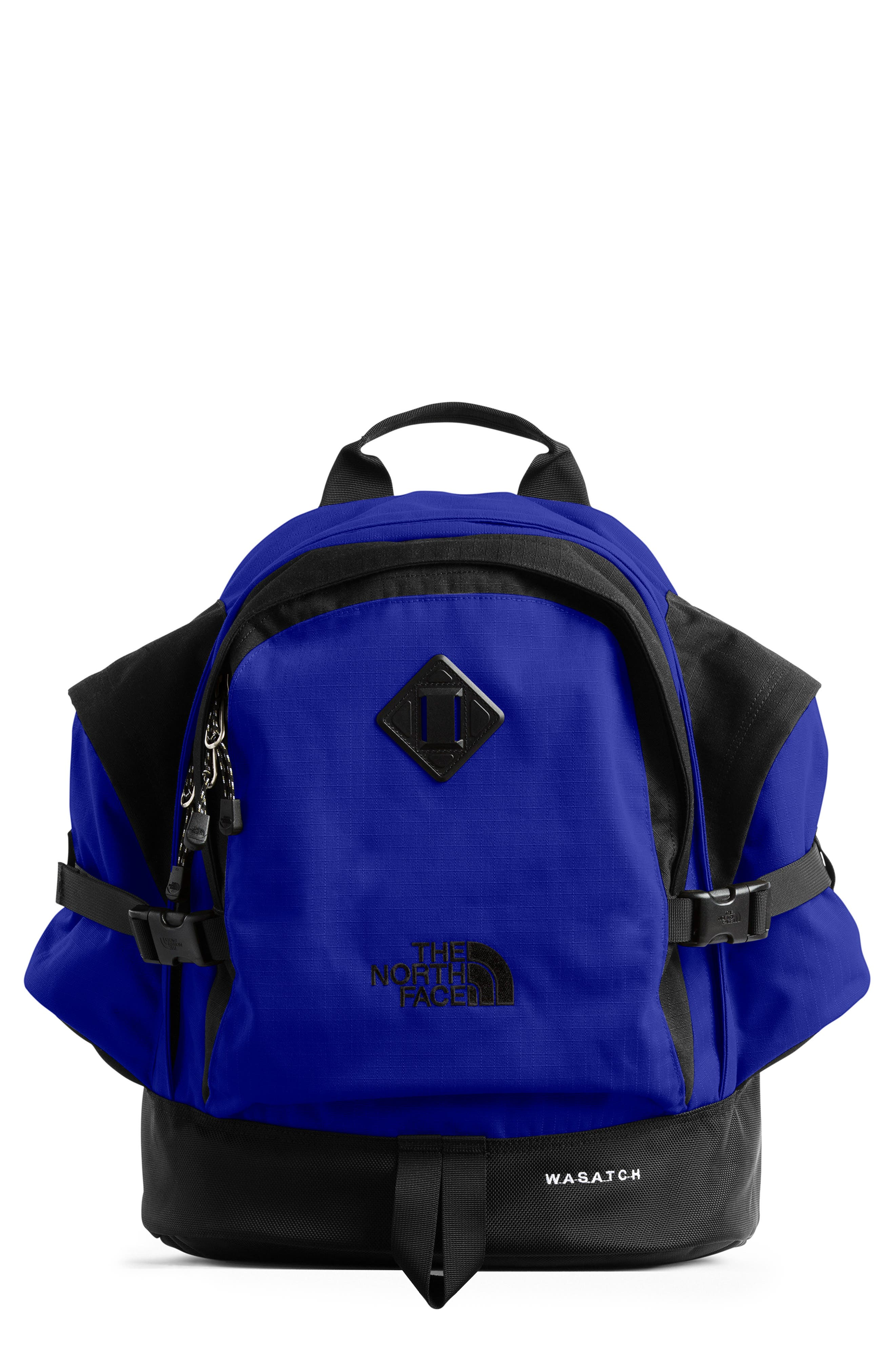 Wasatch Reissue Backpack, Main, color, AZTEC BLUE