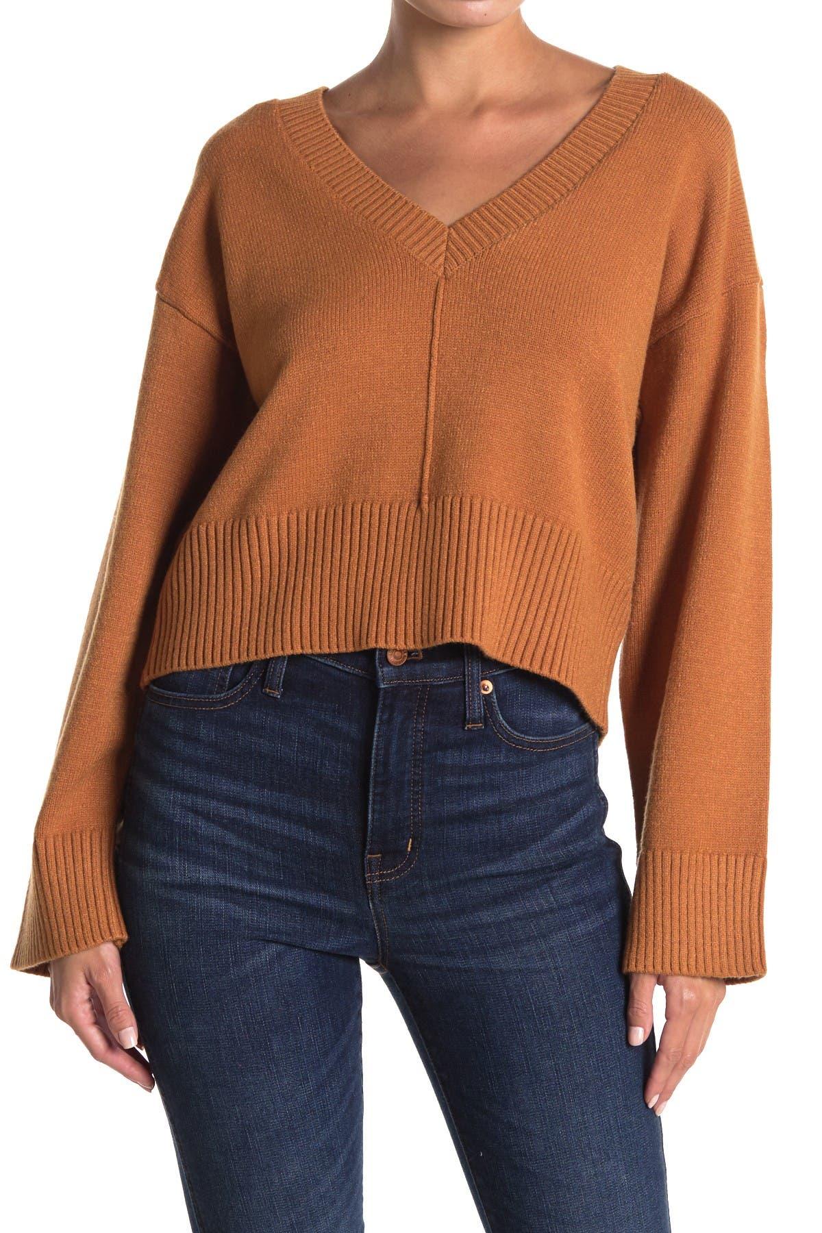 Image of Amuse Society Keri Long Sleeve Knit Sweater