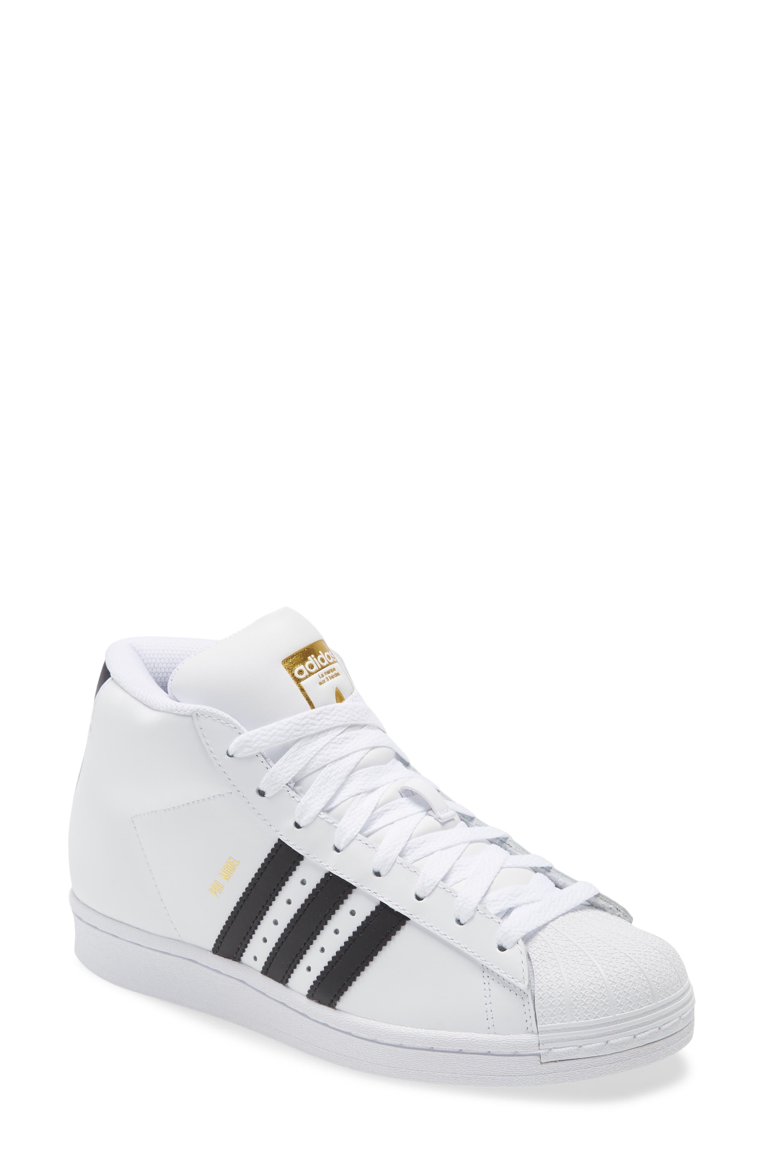 Adidas Pro Model J Mid Top Sneaker (Big Kid) | Nordstrom