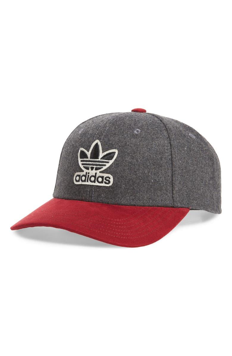 ADIDAS Originals Baseball Cap, Main, color, DARK GREY