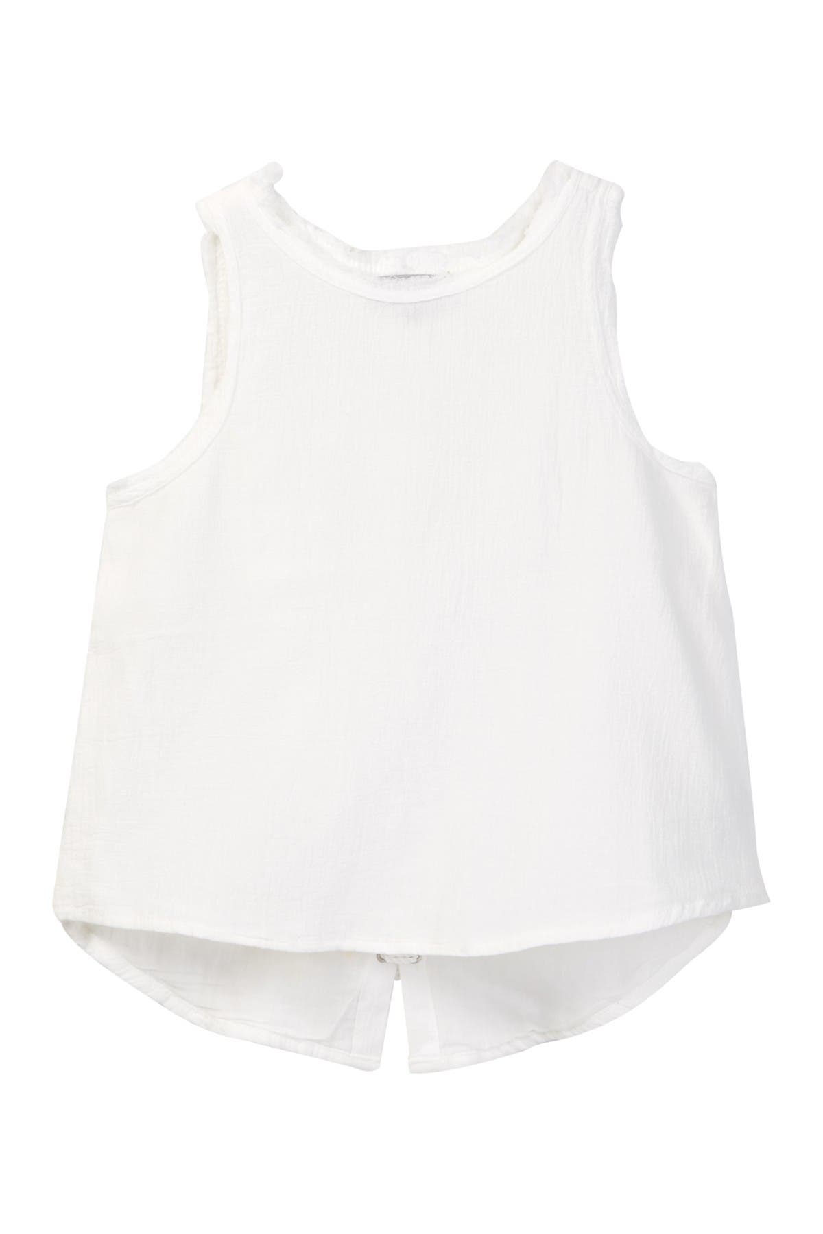 Image of Tractr Back Lace Top