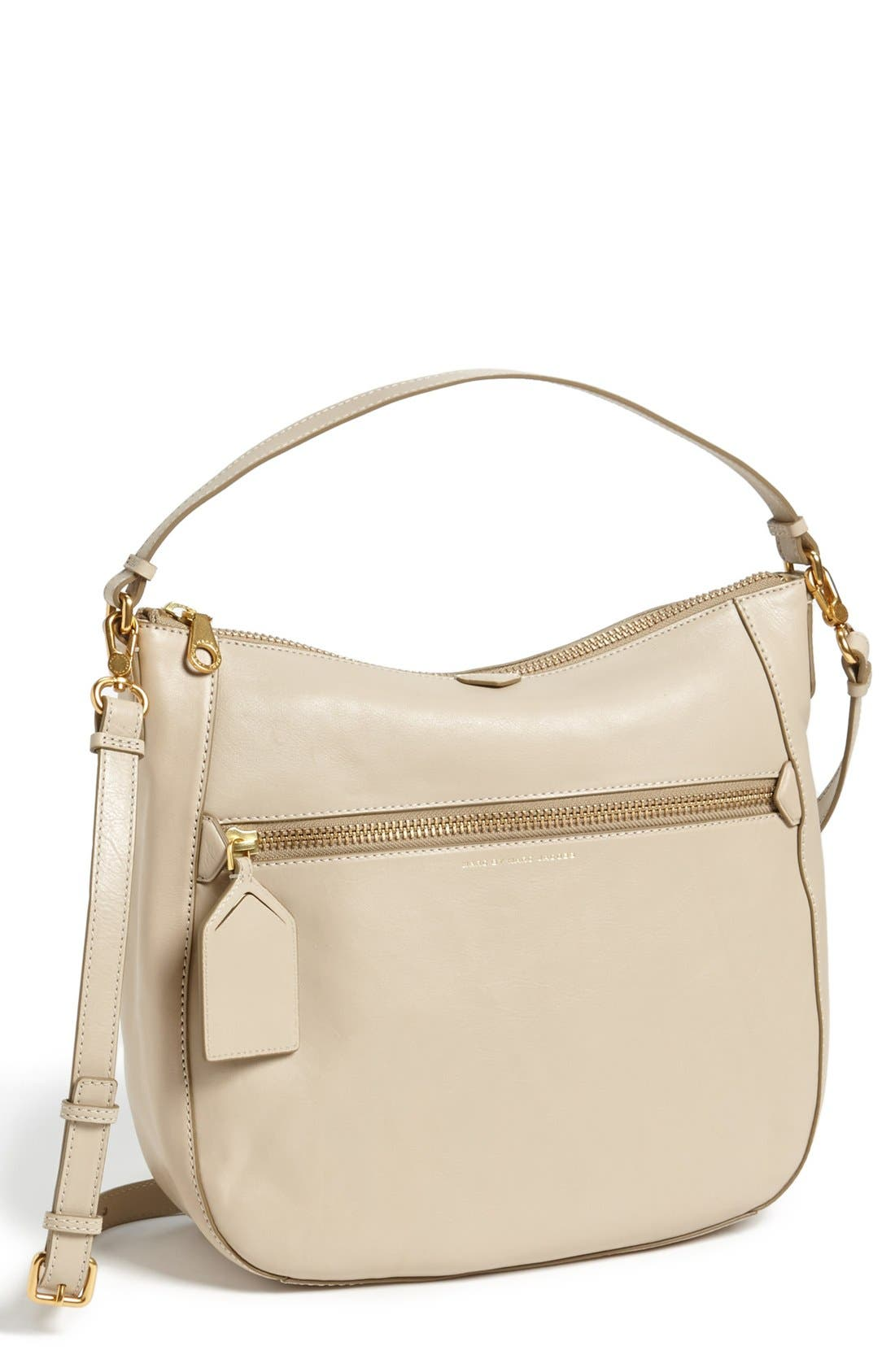 ,                             MARC BY MARC JACOBS 'Globetrotter - Kirsten' Leather Satchel,                             Main thumbnail 1, color,                             270