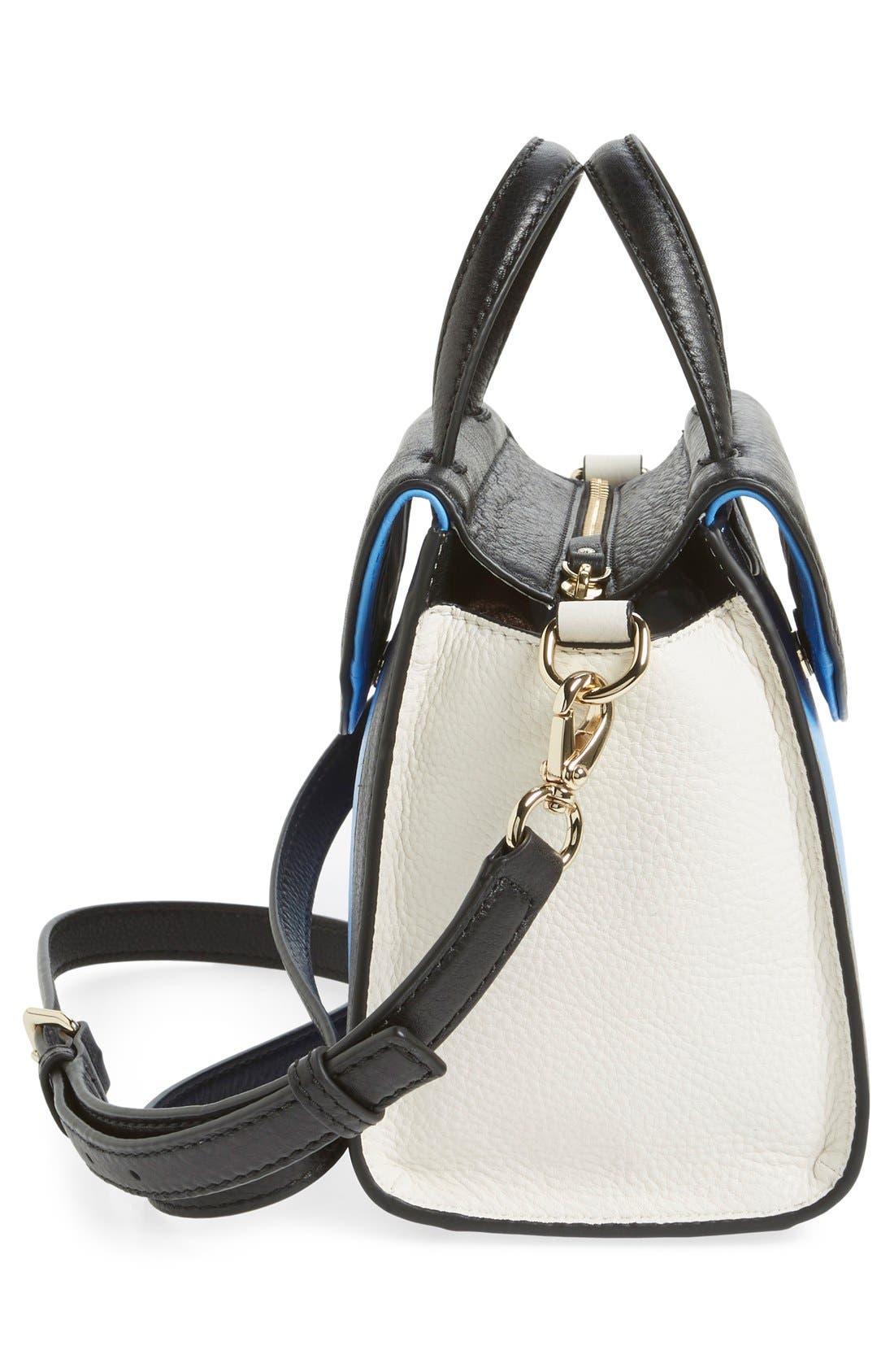 ,                             'cobble hill - small adrien' leather satchel,                             Alternate thumbnail 17, color,                             400