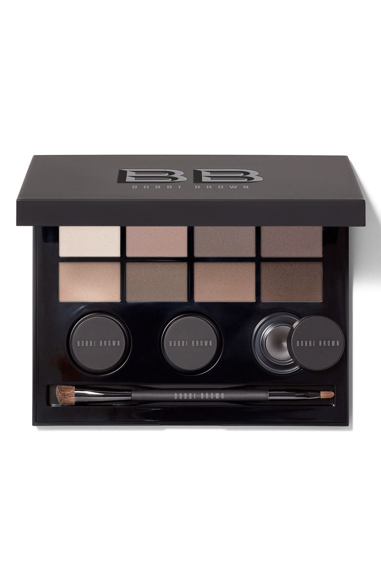 BOBBI BROWN The Mattes Edition Eyeshadow & Gel Liner Palette, Main, color, 000