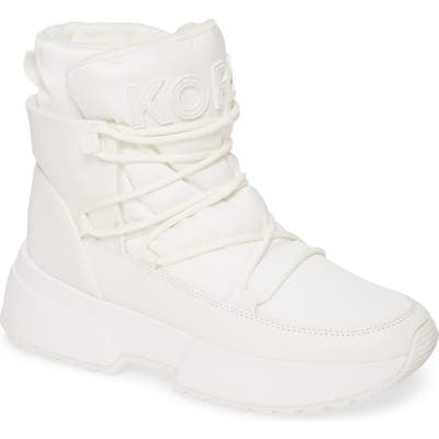 Michael Michael Kors Cassia Sneaker Boot- White