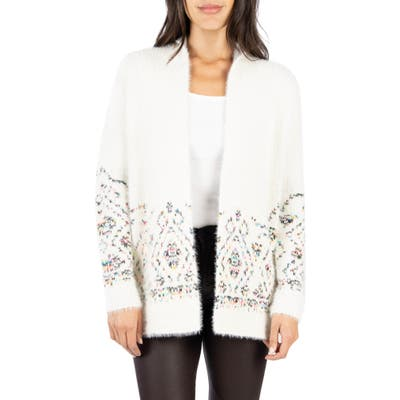 Kut From The Kloth Lennox Open Front Cardigan, White