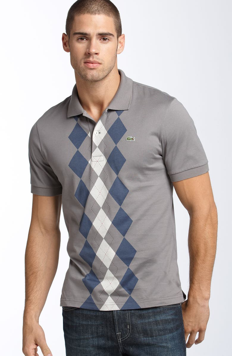 dd1a5c50418f Lacoste Argyle Jersey Polo | Nordstrom