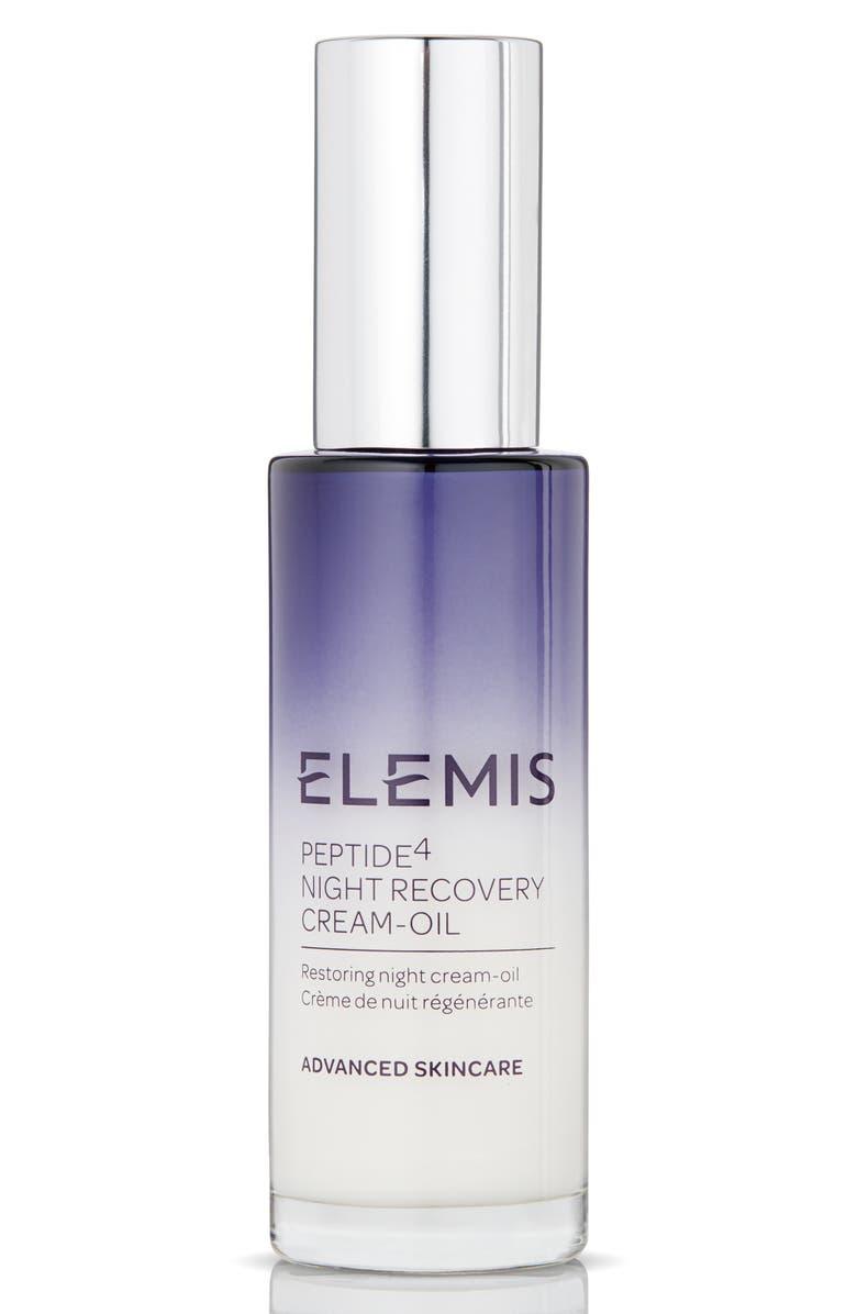 ELEMIS Peptide4 Night Recovery Cream-Oil, Main, color, NO COLOR