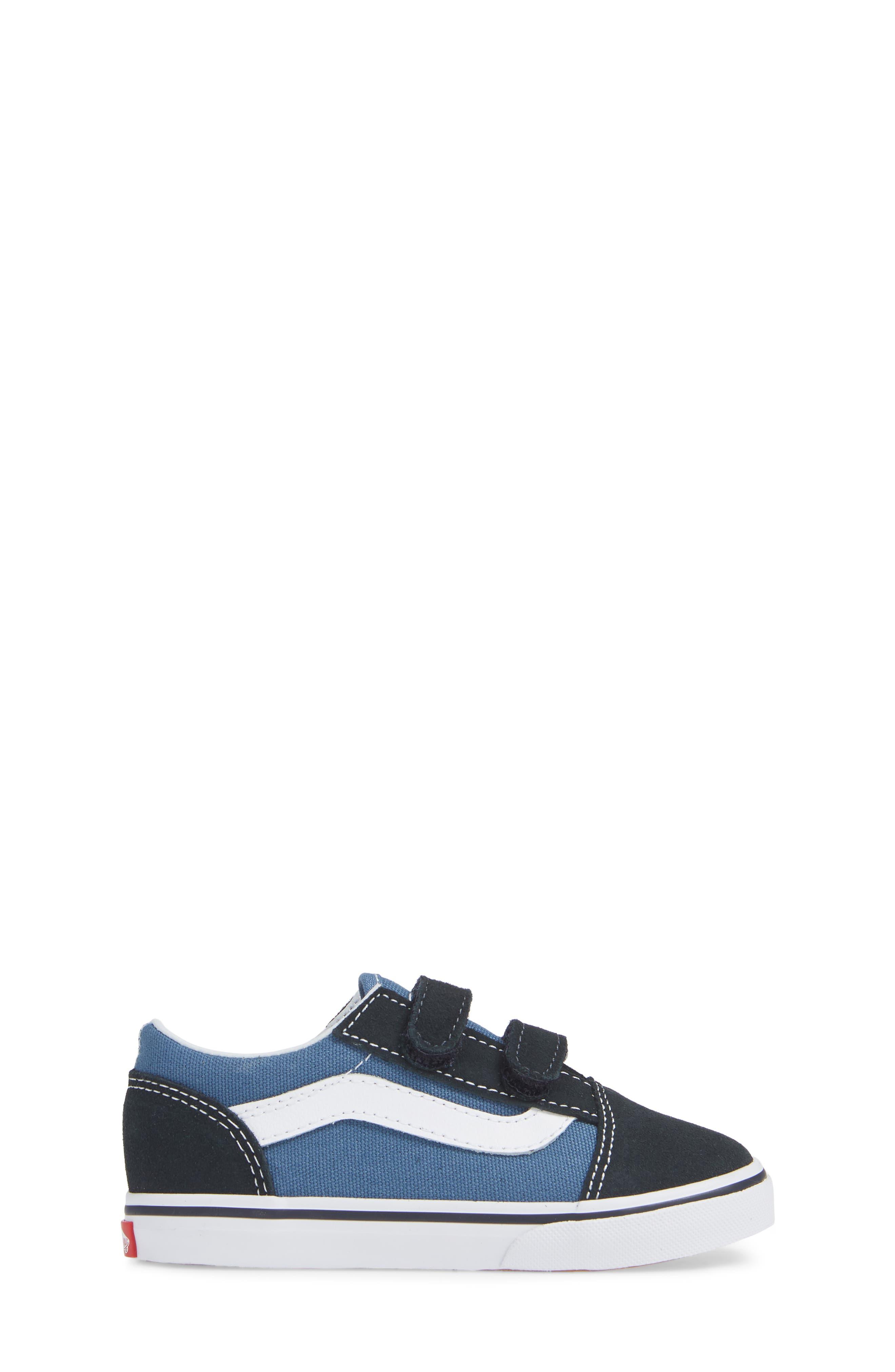 ,                             'Old Skool' Sneaker,                             Alternate thumbnail 3, color,                             NAVY