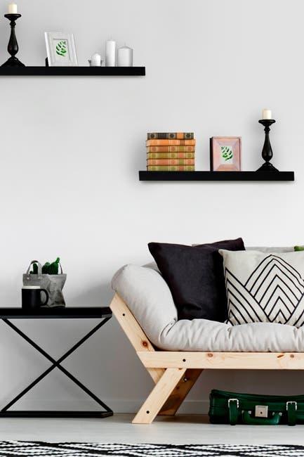 Image of Sorbus Walf Shelf - Set of 2 - Black