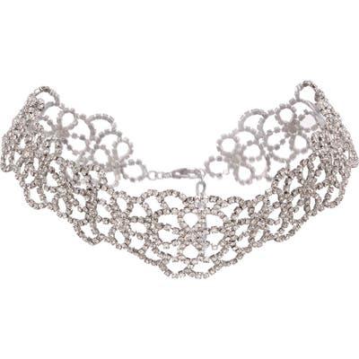 Nina Crystal Choker Necklace