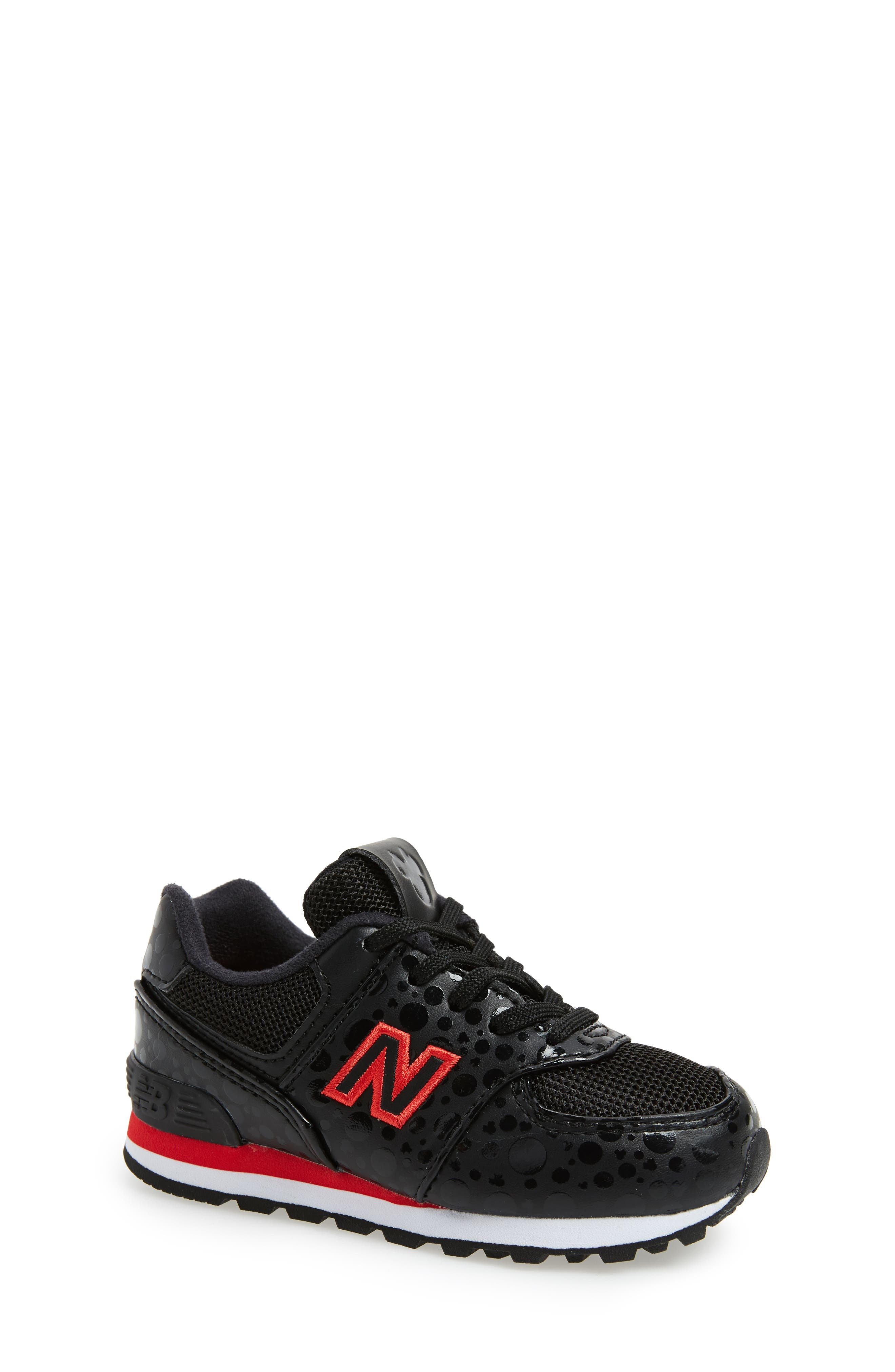 Profesor de escuela ángel Comportamiento  New Balance | x Disney 574 Minnie Mouse Sneaker | Nordstrom Rack