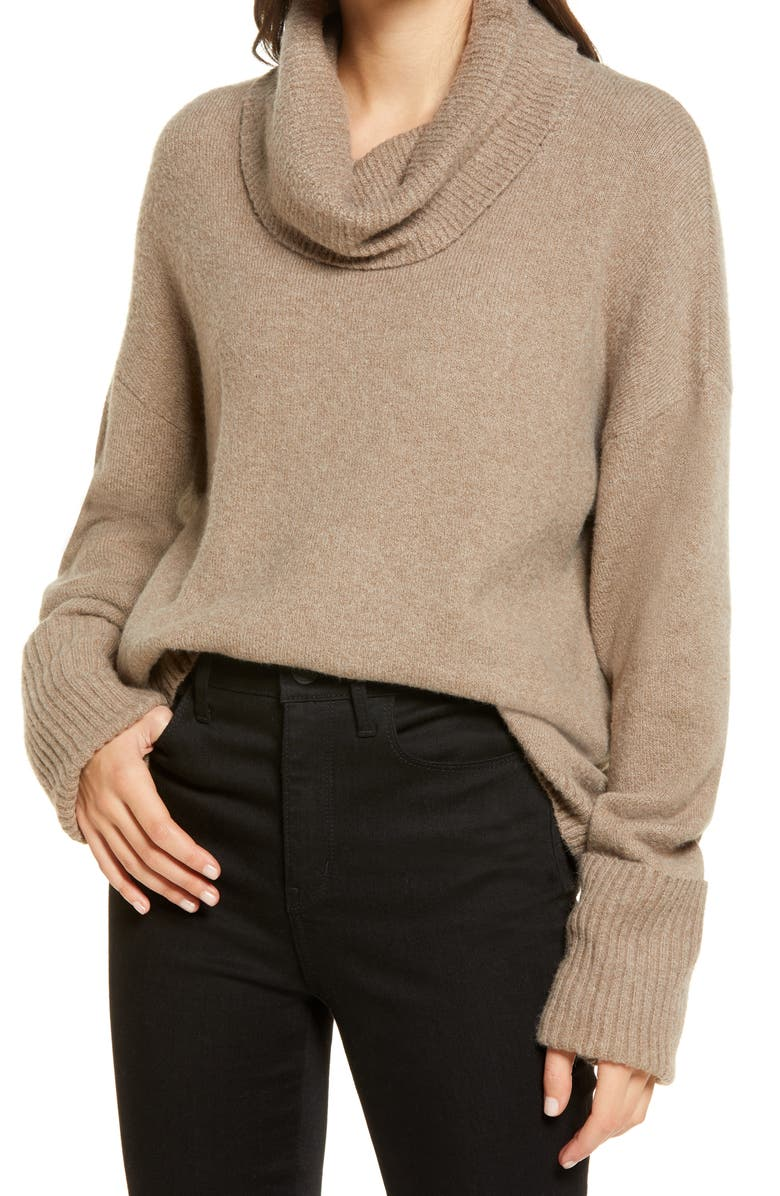 CHELSEA28 Cowl Neck Sweater, Main, color, 200