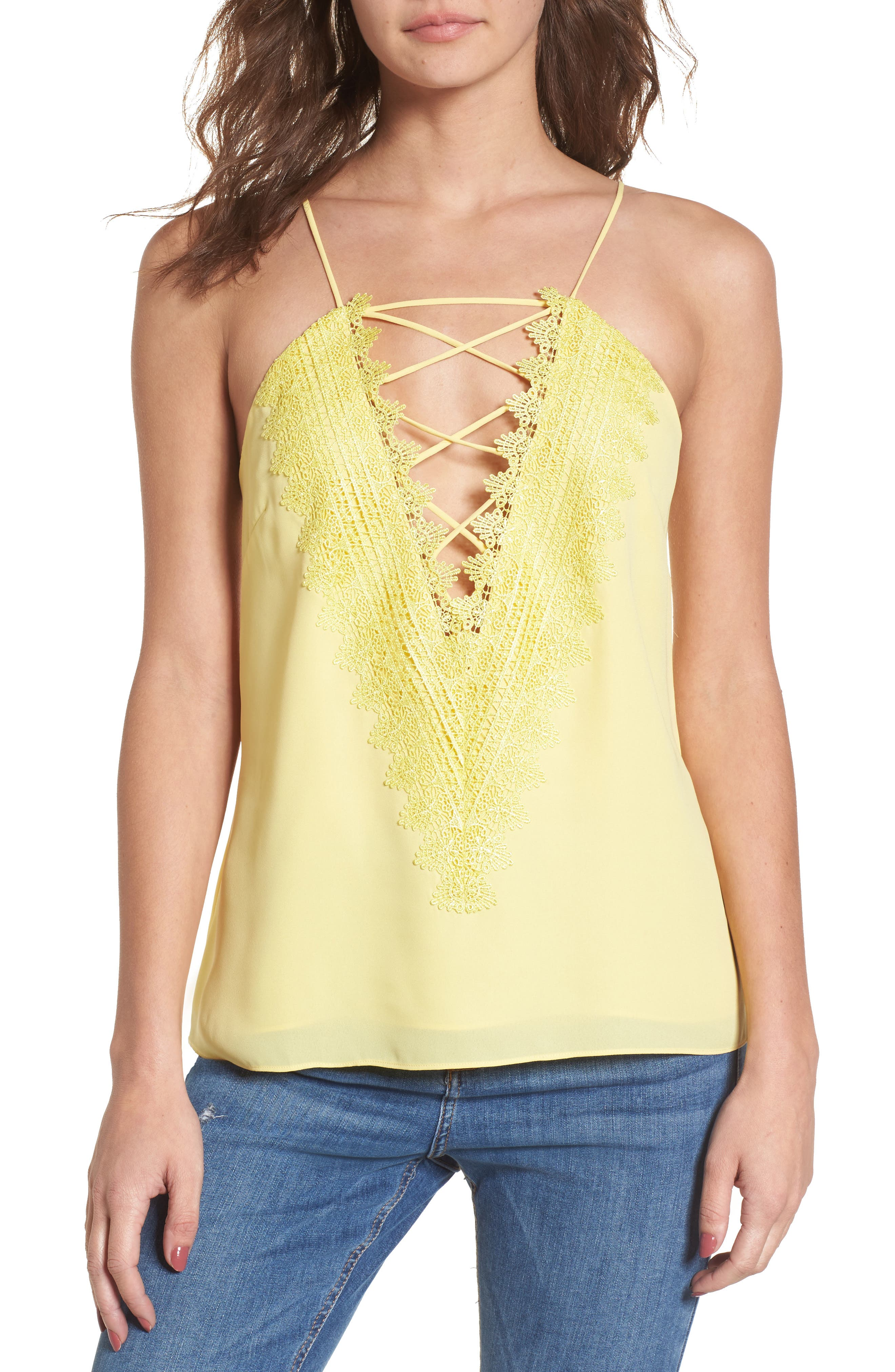 ,                             Posie Strappy Camisole,                             Main thumbnail 92, color,                             700