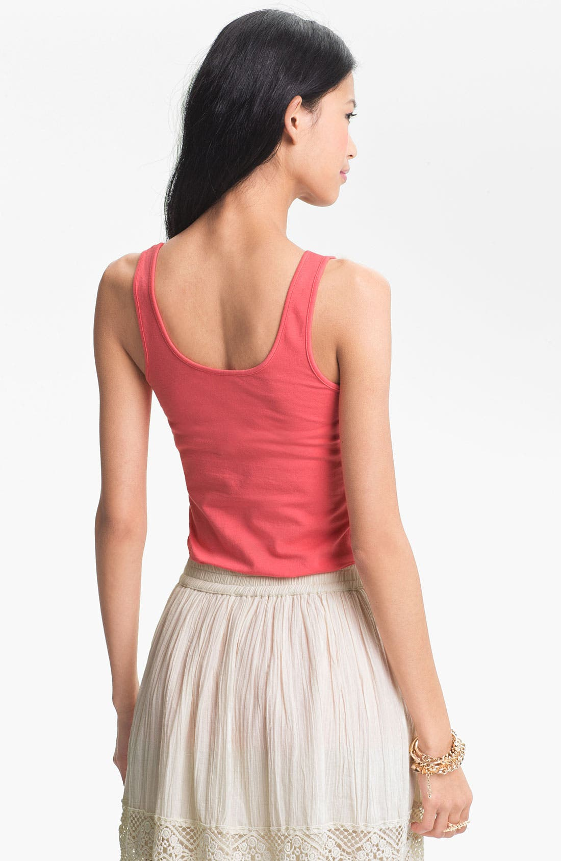 ,                             Double Scoop Neck Tank,                             Alternate thumbnail 294, color,                             669