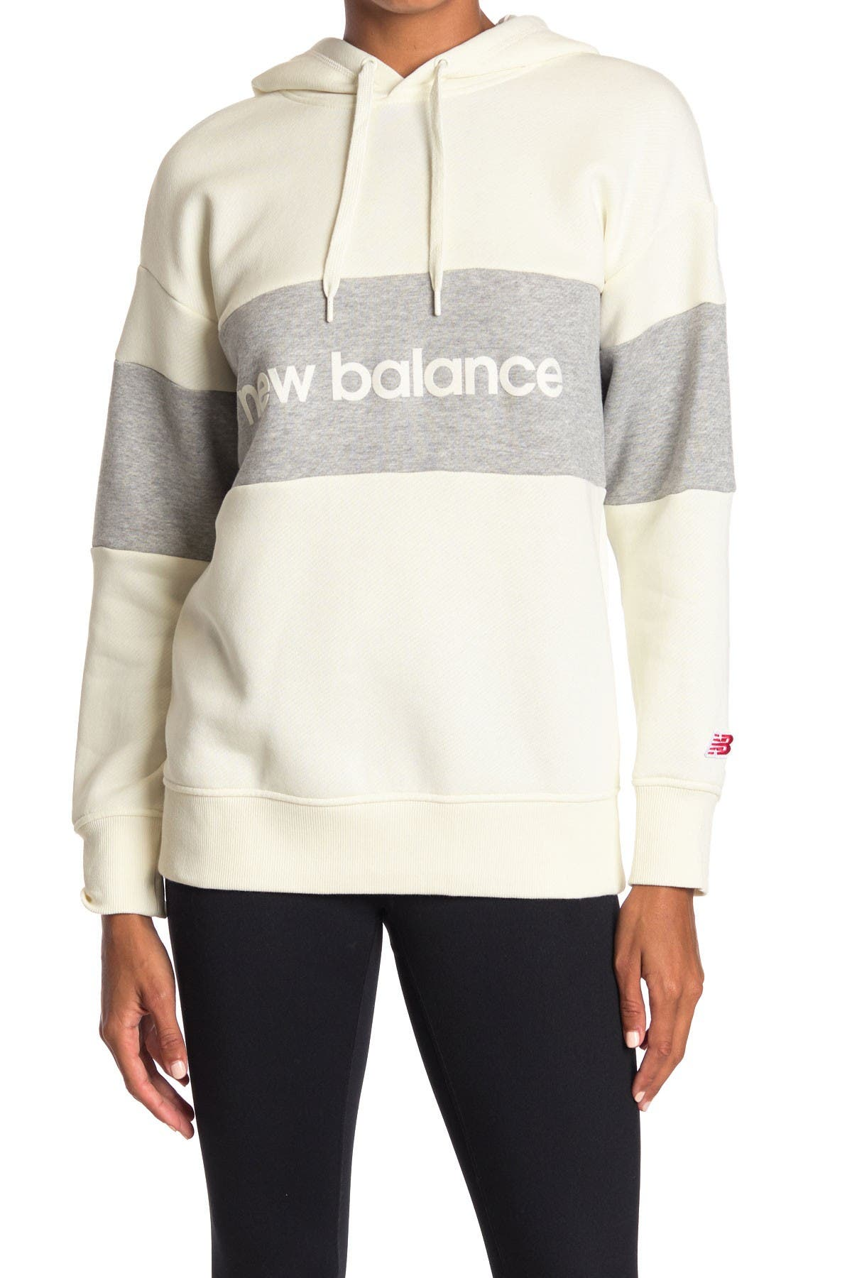 Image of New Balance Stadium Logo Knit Hoodie