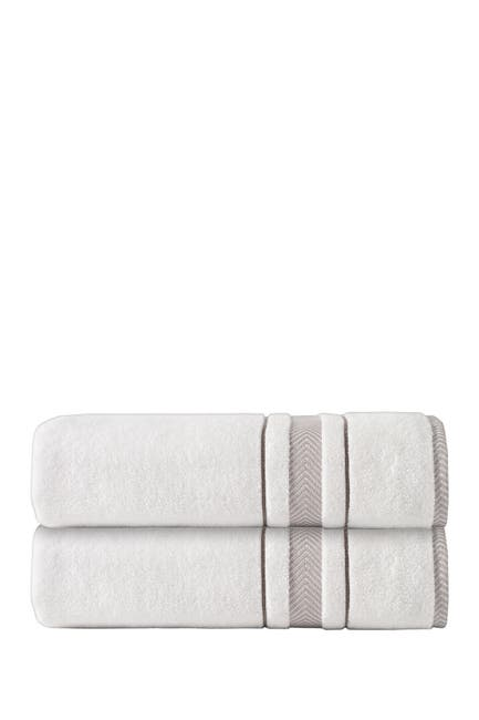 Image of ENCHANTE HOME Enchasoft Turkish Cotton 2-Piece Bath Sheets