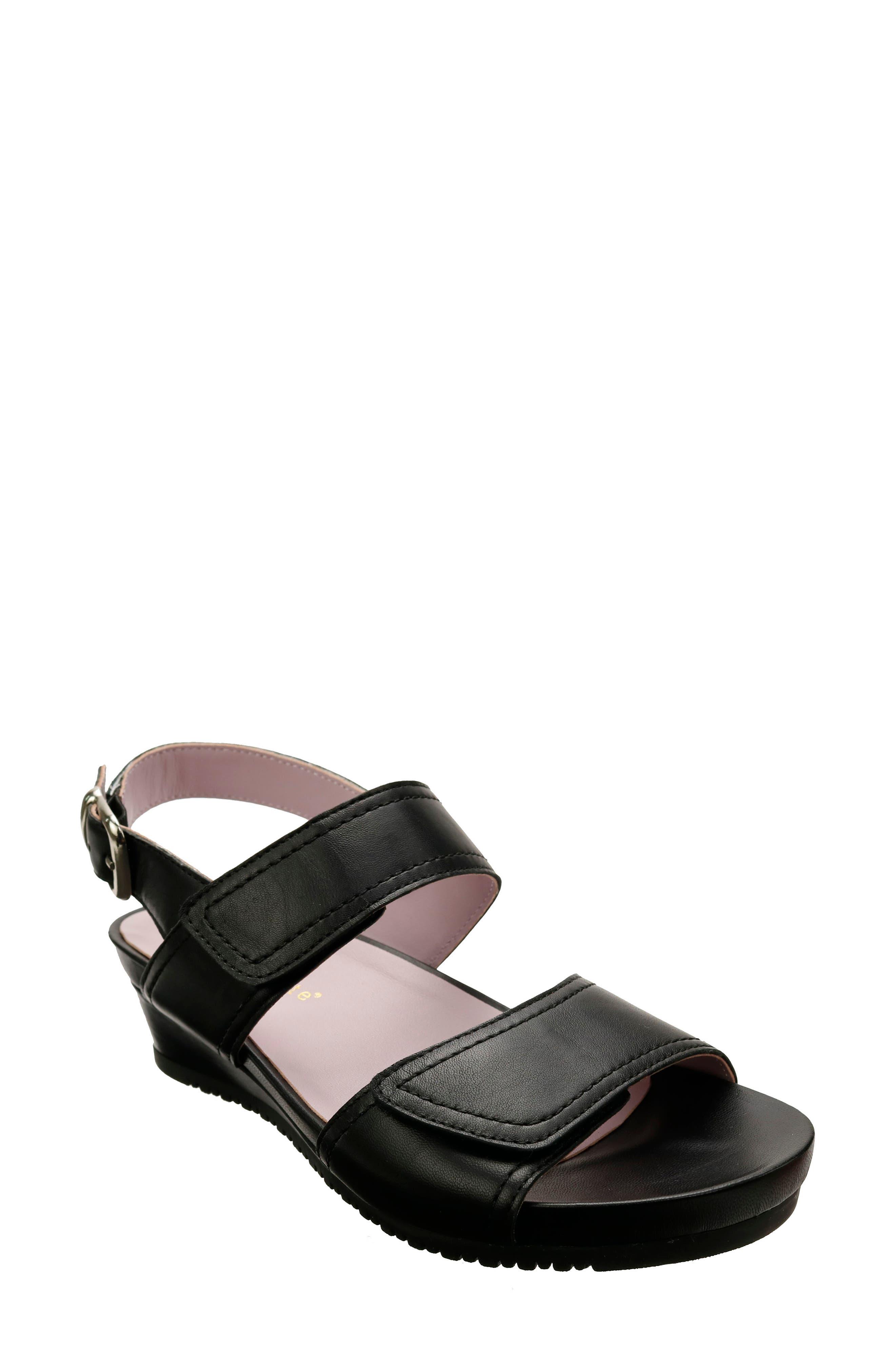 Duo Wedge Slingback Sandal