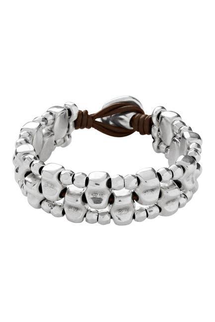 Image of Uno De 50 Lusala Beaded Multi-Strand Leather Bracelet