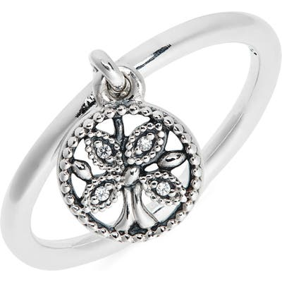 Pandora Tree Of Life Dangle Charm Ring